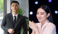 Hoa hậu Lương Thùy Linh cùng nam diễn viên Huỳnh Anh ngồi ghế giám khảo Super Idol Kids