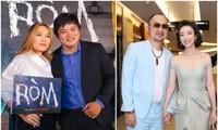 """Mỹ Tâm, vợ chồng Thu Trang - Tiến Luật đến chúc mừng phim """"Ròm"""" ra mắt đầy cảm xúc"""