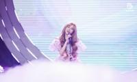 Thiều Bảo Trâm hóa công chúa ngọt ngào tỏa sáng trên sân khấu V Heartbeat