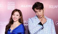 Hari Won sánh đôi Tuấn Trần, rinh giải thưởng mặc nổi bật nhất tại sự kiện thời trang