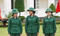 """Nam Thư nói gì về xích mích của Khánh Vân trong chương trình """"Sao nhập ngũ""""?"""