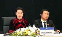 Chủ tịch Quốc hội Nguyễn Thị Kim Ngân điều hành Phiên họp Ủy ban Chấp hành của Hội nghị APPF-26.