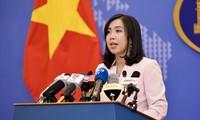Người Phát ngôn Bộ Ngoại giao Lê Thị Thu Hằng cho biết,chưa có thông tin về người Việt nào bị ảnh hưởng trong các cuộc biểu tình tại Pháp. Ảnh: T.L