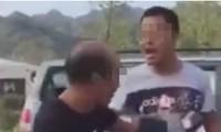 Đoạn băng cảnh quay học sinh trả thù thầy giáo sau hơn 20 năm bị thầy đánh