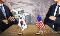 Ảnh minh họa của Yonhap về các cuộc đàm phán chia sẻ chi phí cho Lực lượng Mỹ- Hàn.