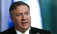 Ngoại trưởng Mỹ Mike Pompeo né tránh trả lời câu hỏi của phóng viên về việc Triều Tiên đòi thay thế ông trong các đàm phán hạt nhân.