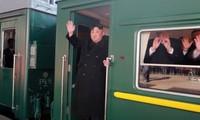 Cũng giống chuyến thăm Việt Nam, lần này nhà lãnh đạo Kim Jong-un sẽ đi bằng tàu hỏa tới Nga dự họp thượng đỉnh với Tổng thống Nga Vladimir Putin.