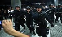 Hơn 5.000 cảnh sát Hong Kong được huy động để ứng phó với làn sóng biểu tình mới. Ảnh:SCMP