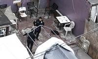 Hiện trường vụ xả súng ở Brooklyn.