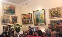 Bộ tranh sơn dầu của danh hoạ Bùi Xuân Phái lần đầu ra mắt khán giả Việt Nam