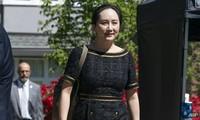 Quá trình dẫn độ bà Mạnh Vãn Châu, Giám độc tài chính Huawei đã tạm dừng.