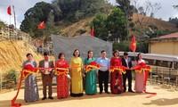 Bia lưu niệm Tây Tiến đã được chính thức khánh thành tại Sài Khao, Thanh Hoá. Ảnh: Thanh Thuỷ