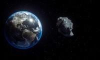Mô phỏng một tiểu hành tinh lao vào Trái đất.