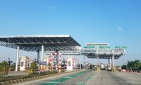Trạm thu phí BOT Tiên Cựu trên Quốc lộ 10 qua Hải Phòng.
