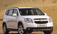Chevrolet Orlando 2013 nằm trong diện phải triệu hồi do lỗi túi ký. Ảnh minh hoạ.