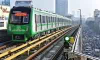 Chuẩn bị chạy thử đường sắt Cát Linh - Hà Đông. Ảnh minh hoạ.