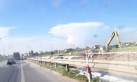 Thi công đoạn cao tốc Cao Bồ - Mai Sơn, 1 trong các đoạn cao tốc Bắc - Nam phía Đông. Ảnh minh hoạ.