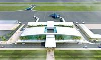 Phối cảnh cảng hàng không Quảng Trị. Ảnh: Cục Hàng không.