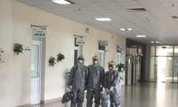 3 bác sỹ là 'hành khách đặc biệt' trên chuyến bay đến thành phố Vũ Hán - Trung Quốc đón công dân Việt Nam về nước. Ảnh: BV Bệnh Nhiệt đới TƯ