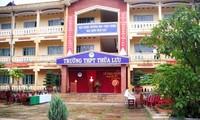 Trường THPT Thừa Lưu dẫn đầu về tỷ lệ GV được xét thăng từ hạng 3 lên hạng 2 trong năm 2018 khiến nhiều người bất ngờ