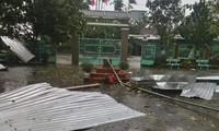 Bão số 9 gây thiệt hại nghiêm trọng cho huyện miền núi Nam Đông, Thừa Thiên Huế. (Ảnh: FB)