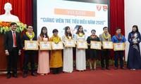 18 gương mặt giảng viên trẻ tiêu biểu Đại học Huế năm 2020 đã được tuyên dương dịp kỷ niệm Ngày nhà giáo Việt Nam 20/11.
