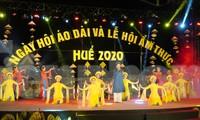 """Ngày hội áo dài Huế 2020 là """"đại tiệc"""" về trình diễn áo dài lớn nhất từ trước đến nay tại Huế."""