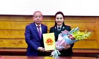 Bà Đinh Thị Như Hiền - nữ Phó chánh Thanh tra tỉnh TT-Huế vừa được bổ nhiệm.