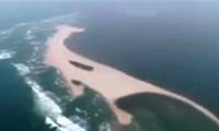 Bộ Nông nghiệp kiểm tra đảo cát 'lạ' nổi ở biển Cửa Đại