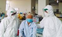 Cụ bà 100 tuổi ở Quảng Nam mắc COVID-19 đã khỏi bệnh, xuất viện. ảnh BV cung cấp