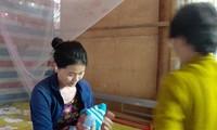Cô giáo Đỗ Kim The bị chấm dứt hợp đồng trong lúc mang thai, gia đình khó khăn