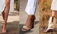 """Denim và đan dệt - hai chất liệu """"hot"""" nhất Xuân Hè năm nay, phủ sóng đến cả xu hướng giày"""