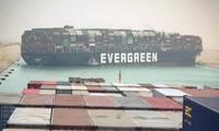 Vì sao tàu mắc kẹt ở kênh đào Suez có tên Ever Given, trong khi thân tàu có chữ Evergreen?