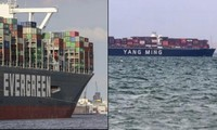 Mở khóa kênh đào Suez: Tàu đầu tiên được đi qua có điểm trùng hợp lạ lùng với Ever Given
