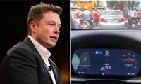 """Chế độ lái tự động của ô tô Tesla """"thua"""" khi gặp tắc đường ở Việt Nam, bảo tài xế tự lái?"""