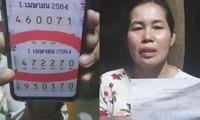 Người mẹ ở Thái Lan trúng xổ số hơn 4 tỷ đồng, kể rằng may mắn đến từ giấc mơ của con trai