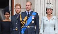 Động thái khác biệt của William - Kate và Harry - Meghan sau khi Hoàng thân Philip qua đời
