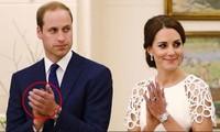 Hoàng tử William giống Hoàng thân Philip ở điểm không bao giờ đeo nhẫn cưới, Kate nghĩ gì?