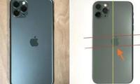"""Máy iPhone 11 Pro có logo bị lệch được bán với giá """"khủng"""", liệu máy của bạn có thế không?"""