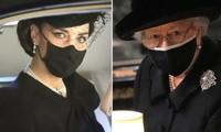 """""""Sinh ra để làm Hoàng hậu"""": Kate được khen vì cách cư xử trong tang lễ Hoàng thân Philip"""