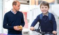 Kate lại thể hiện sự đoàn kết trong sinh nhật con trai út: Louis mặc đồ giống y bố William