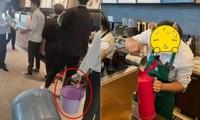 Starbucks Trung Quốc tặng đồ uống miễn phí cho khách tự mang cốc, ai ngờ khách mang cả… xô