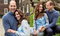 Vợ chồng William - Kate đăng ảnh mừng kỷ niệm 10 năm ngày cưới, ảnh nào cũng đầy ý nghĩa