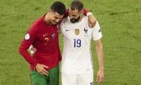 """Là đối thủ trong trận đấu, nhưng Cristiano Ronaldo và Karim Benzema hành động """"đẳng cấp"""""""