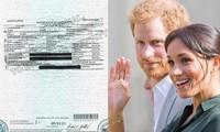 Lộ giấy khai sinh con gái Harry - Meghan: Rời bỏ Hoàng gia nhưng Harry vẫn ghi tước hiệu?