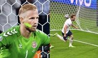 Đội tuyển Anh và người chiếu đèn vào mặt thủ môn Kasper Schmeichel đối diện án phạt nào?