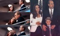 """Bị """"quay lén"""" trong trận chung kết EURO, vì sao nhà William - Kate được khen ngợi hết lời?"""