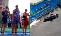 Sự cố ở Olympic Tokyo khiến các VĐV suýt gặp nguy hiểm, một môn thi đấu phải bắt đầu lại