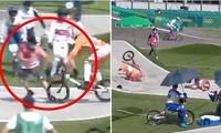 VĐV đua xe đạp địa hình ở Olympic Tokyo bị chấn thương do đâm phải… người của Ban tổ chức