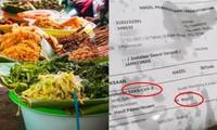 Một người Indonesia ăn hết bánh mới thấy giấy gói là… kết quả xét nghiệm COVID-19